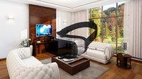 Virual reality living room vr