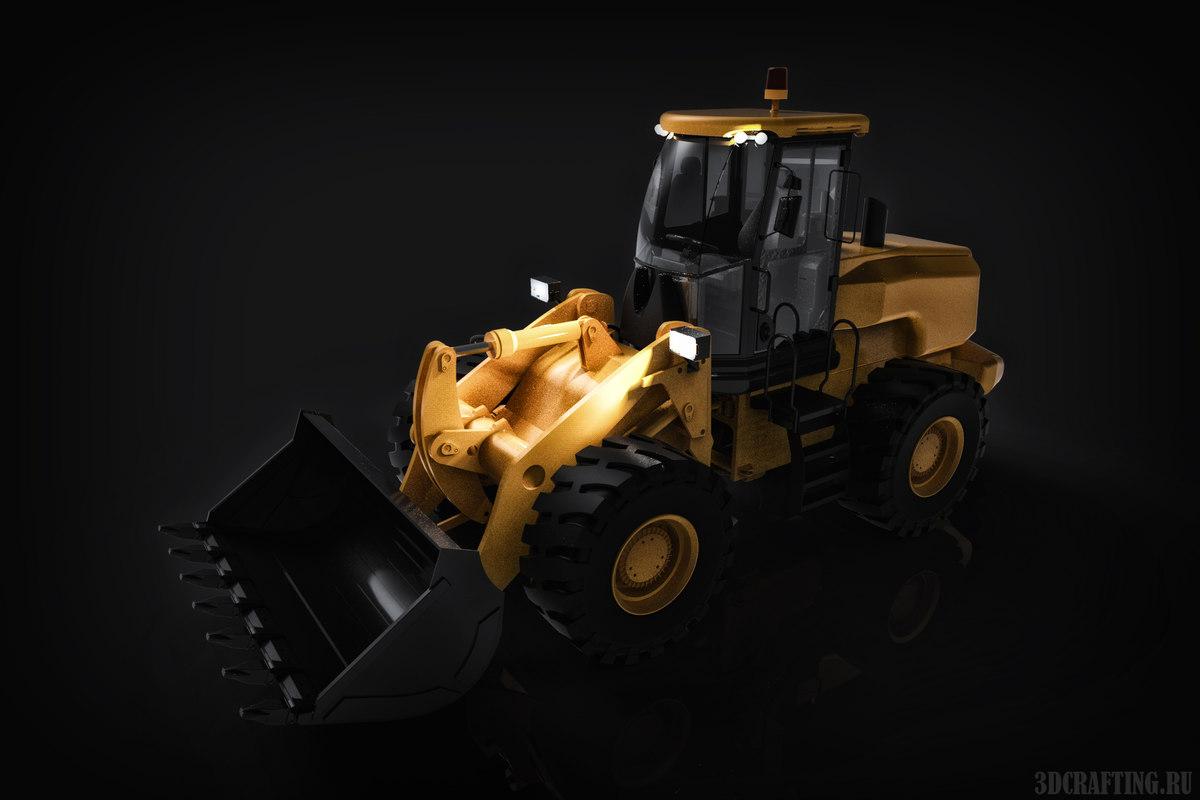 3D loader solidwroks