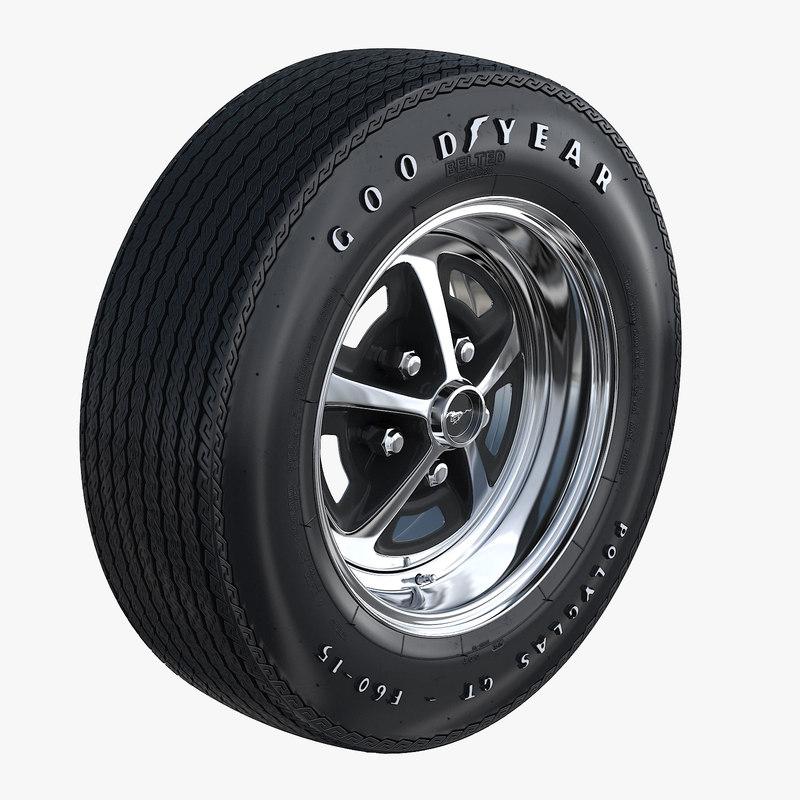 3D wheel magnum 500