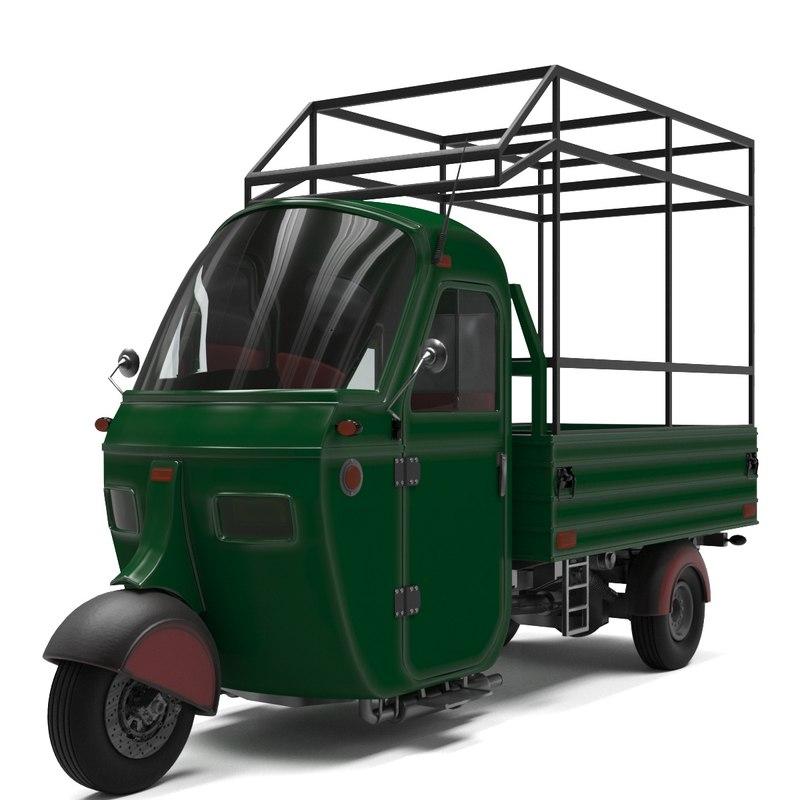 wheel van 3D model