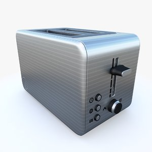 toaster pbr 3D