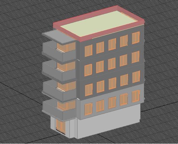 basic house 3D model