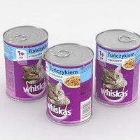 3D whiskas tuna