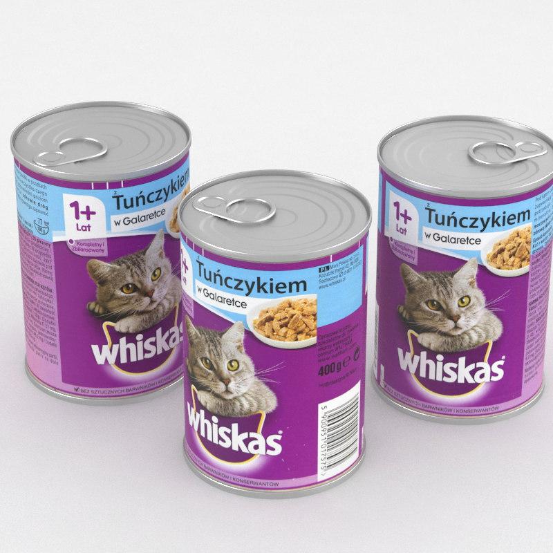 3D whiskas tuna