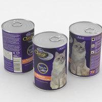 3D cat food