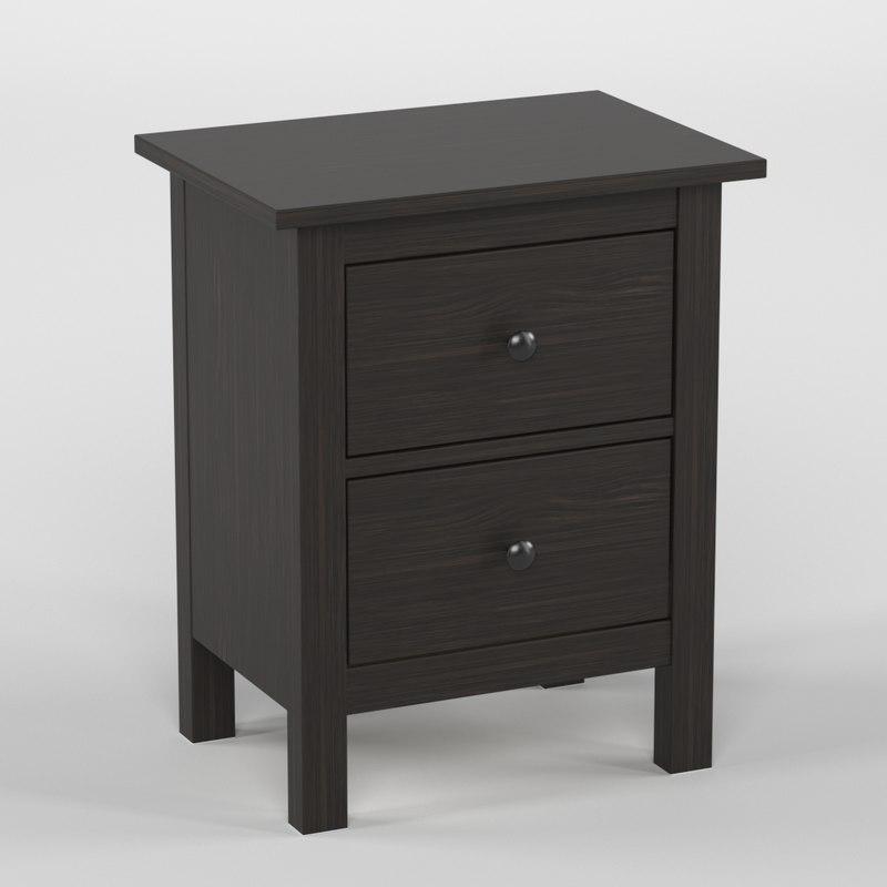 hemnes chest 2 drawers model