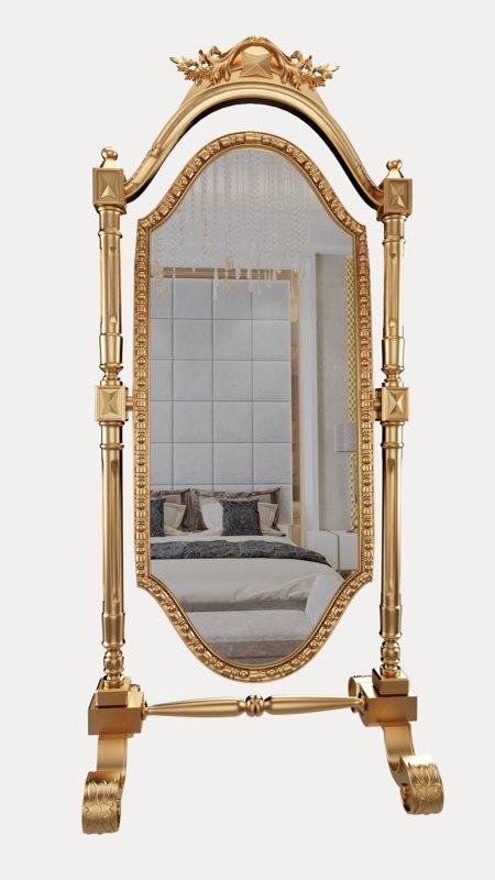 3D mirror classic furniture