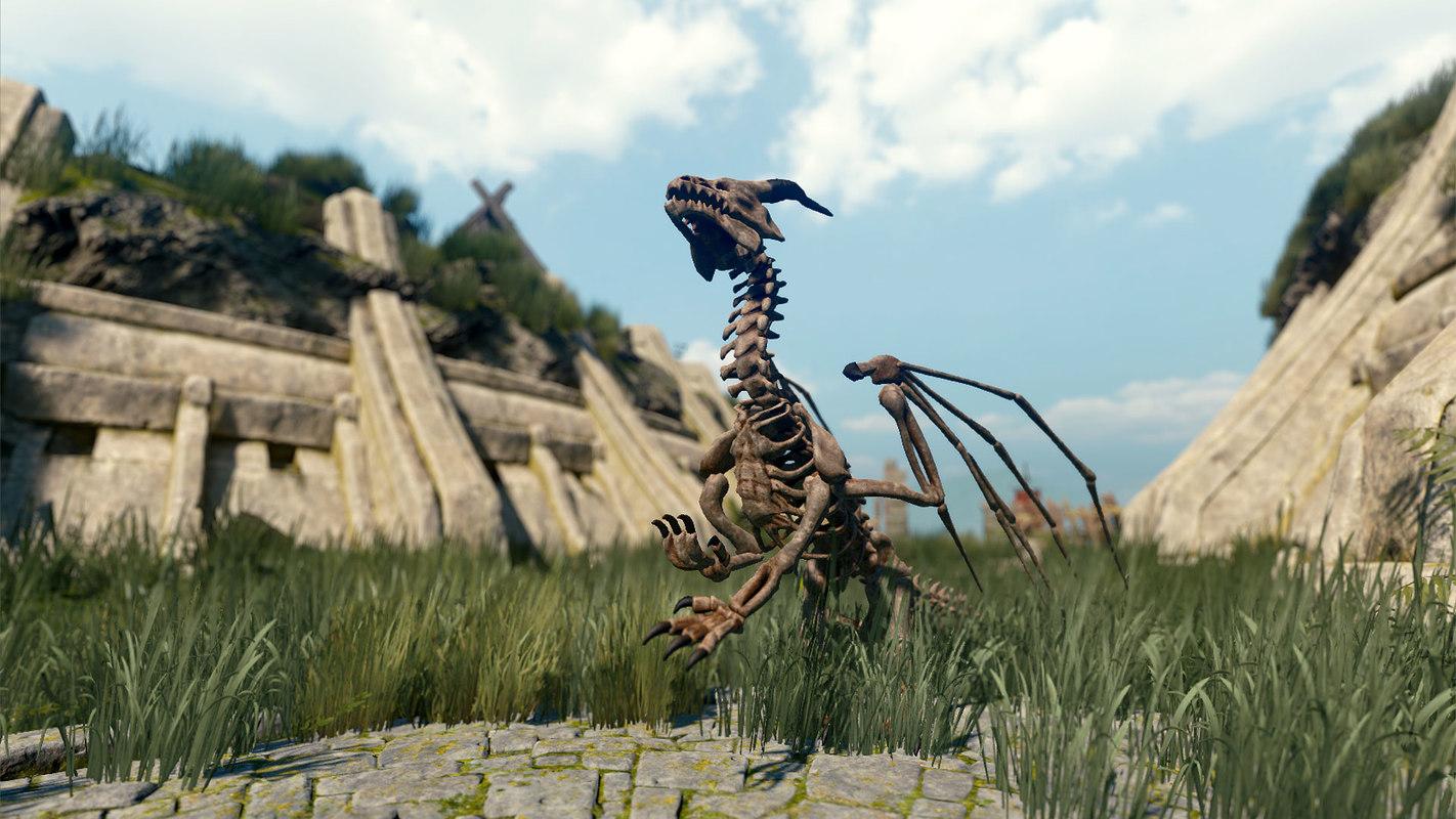 bone dragon pack model