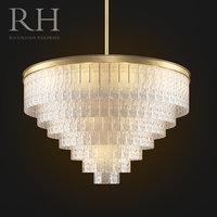 restoration hardware chandelier 3D model