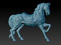 3D model horse print
