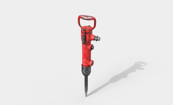 jackhammer tca-7 3D model
