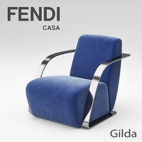 fendi casa chair 3D