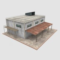 3D model warehouse exterior interior -