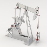 Animated Oil Pump Jack