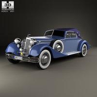 horch 853 sport 3D model