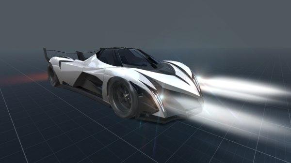 devel sixteen prototype 3D