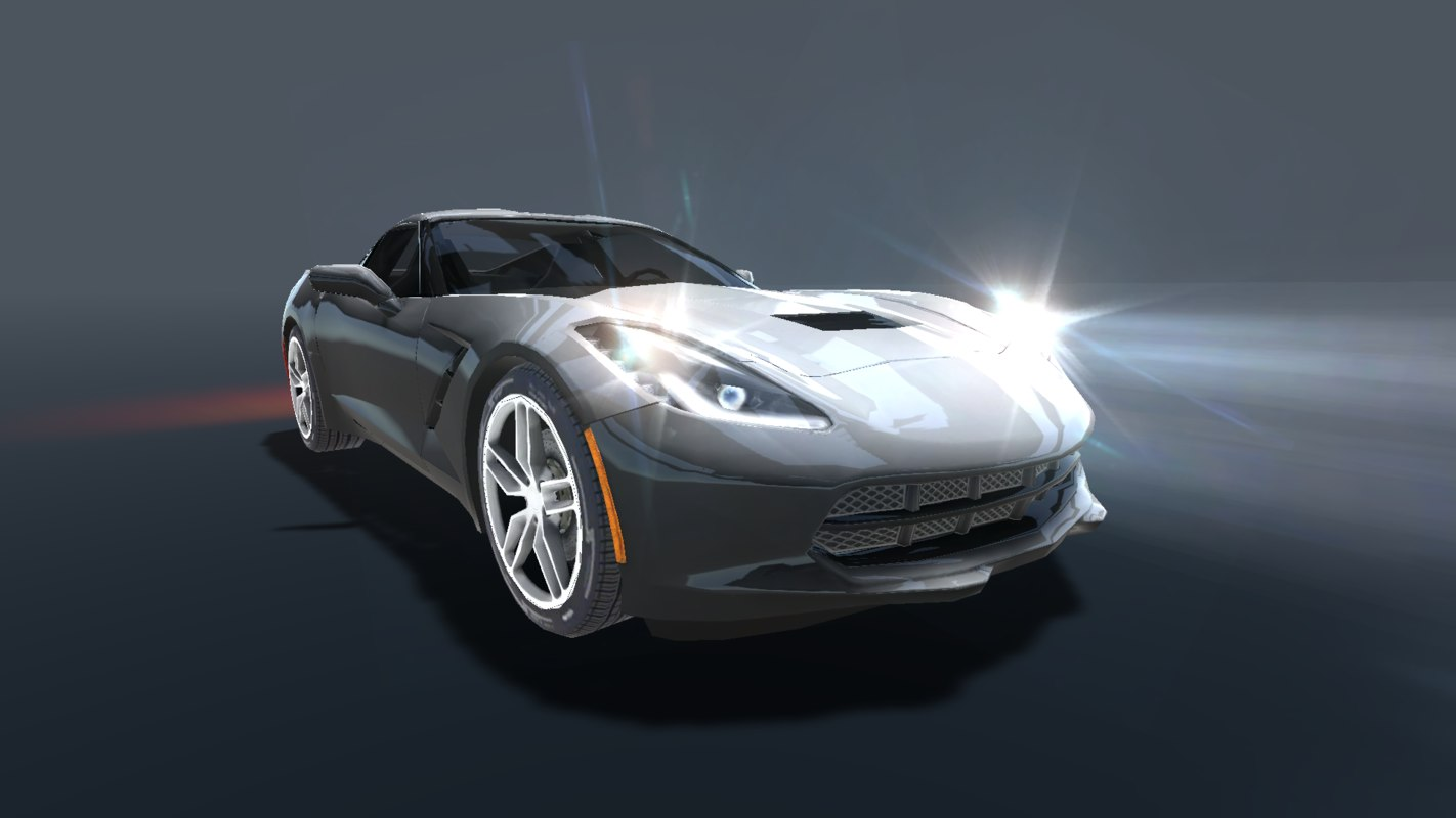 3D corvette stingray 2017