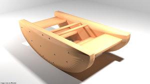 boat rocking 3D model