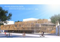 3D facade louver