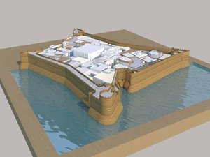 magazan fortress model
