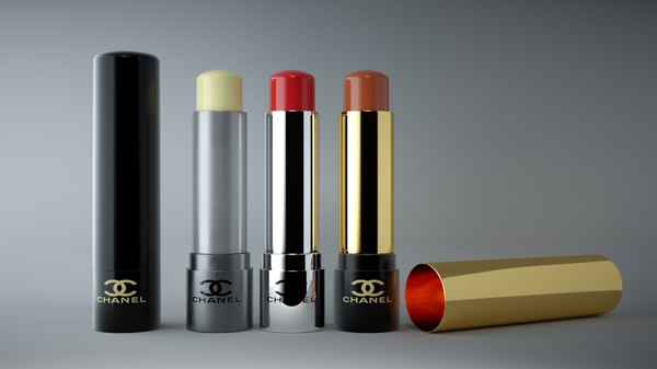 lipstick mockup 3D model