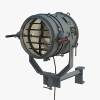 3D 12 inch signaling searchlight