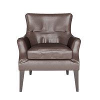 Potterybarn Carson leather armchair