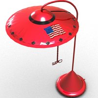 3D lamp ufo