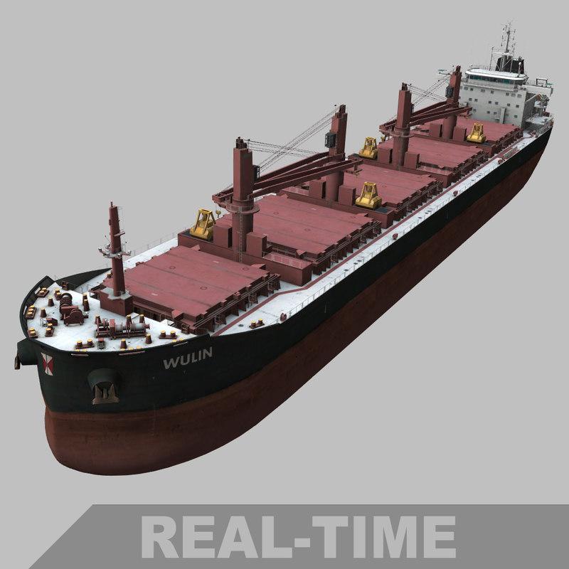 3D wulin bulk carrier