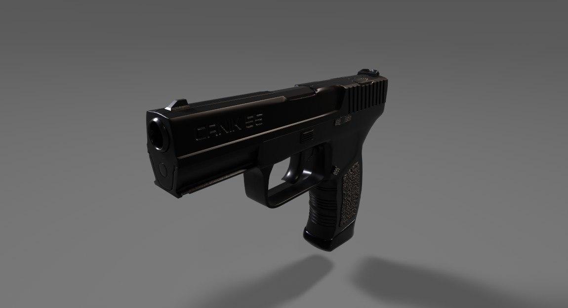 3D model canik tp9