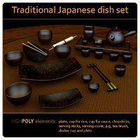 dish set unique model
