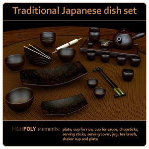 dish set unique model