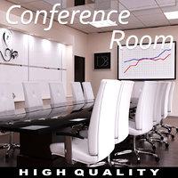 Modern Conference Room Scene