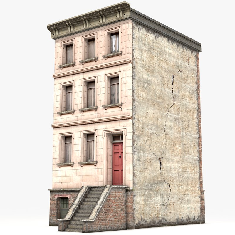 3D model townhouse games