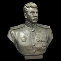 3D sculpture stalin model