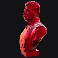 3D stalin print model