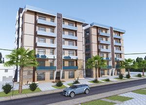 building residential modern model