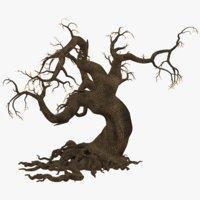 3D model scary tree