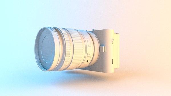 3D simple camera