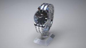 tissot watch 3D model