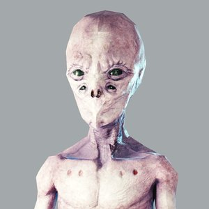 alien games 3D model