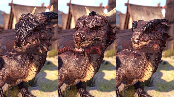 dragon pack 3D model