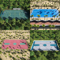 Basketball Outdoor Courts Collection