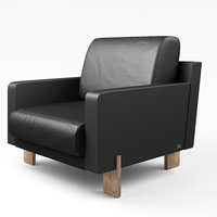 sede ds-77-01 armchair 3D model
