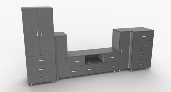 3D tv stand 53
