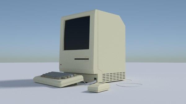 3D simple computer model
