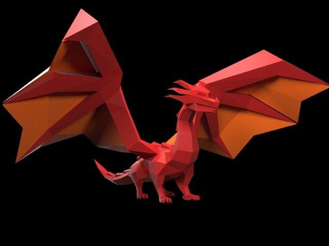 style dragon 3D