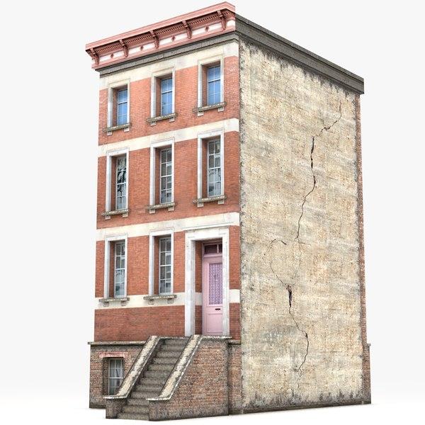 3D model townhouse games
