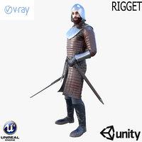 sword character model