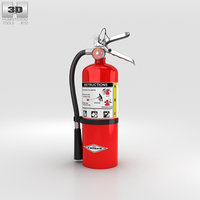 extinguisher 3D